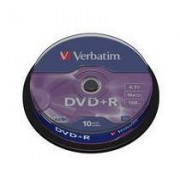 43498/10 SPINDLE 10 DVD+R 4 7GB 16X CF.10 S DVD + R