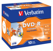 43521/10 DVD-R 4 7GB 16X STAMP.CF.10 S DVD - R