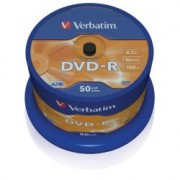 43548 SPINDLE 50 DVD-R 4 7GB 16X SERGR. S DVD - R