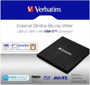 Blu Ray Writer MOBILE BLU-RAY USB TYPE C DISK