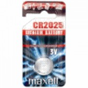 Maxell 4750CF PILA CR2025 TIPO L CONF.5 F PILE Litio Per Foto-video / Calcolo