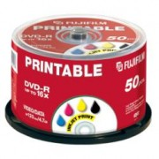 Fujifilm 48243 C.BOX 50 DVD-R 4 4GB 16X INK 50PZ