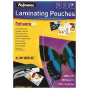 Fellowes Leonardi CF100POUCHES LUCIDE ENHANCE80 A4