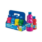ACRYLIC CF8 GIOTTO SCHOOLPACK TEMPERA 500ML Colori Ass