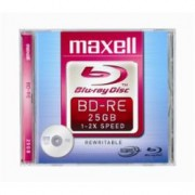 276075 BLU RAY REWRITABLE - 25GB 2X CF.1 DISK RE