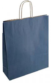 SHOPPER IN CARTA CF25SHOPPER 26X12X35 SEALING BLU