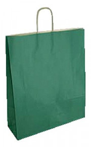 SHOPPER IN CARTA CF25SHOPPER 26X12X35 SEALING VERDE