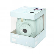 Fujifilm Instax Mini 9 Ice Blue + 10 pose + Custodia