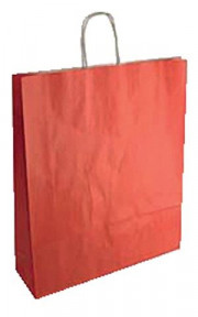 SHOPPER IN CARTA CF25SHOPPER 36X12X41 SEALING ROSSO