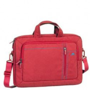 RED LAPTOP CANVAS BAG 15.6