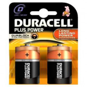 Batterie Alcaline DURACELL Plus Power DURLR20PB2 LR20 D 1.5V (2 pcs)