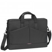 GREY DIAGONAL PLUS LAPTOP BAG 15.6