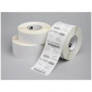 ETICH.POLIESTERE BIANCO 70X32MM C12