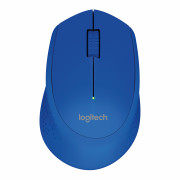 LOGITECH WIRELESS MOUSE M280 BLUE - 2.4GHZ EWR2  IN