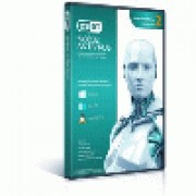 NOD32 - Eset NOD32 Antivirus  UPGRADE 1Y BOX 2US