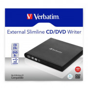 DVD REWRITER USB EXT SLIM NERO