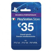 PLAYSTATION LIVE CARDS HANG 35 EURO
