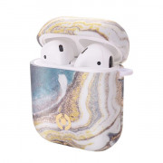 AIRCASEMARBLE - AIRPODS AIRPOD CASE MARBLE GOLD