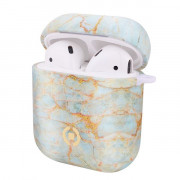 AIRCASEMARBLE - AIRPODS AIRPOD CASE MARBLE TIFFANY