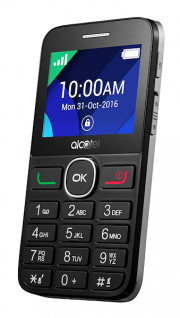 ALCATEL OT 20-08G BLACK METAL SILVE