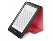 SLEEPCOVER CASE W/ STAND FOR CLARA HD PU LEATHER ROSE RED IN
