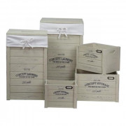 .Set 5pz Storage Lucy Beige Art.6