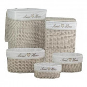 .Set 5Pz Storage Mary Beige Art.10