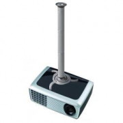PROJECTOR CEILING MOUNT.H:8-98C SILVER. MAX 15KG