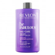 Balsamo Nutriente Be Fabulous Revlon (750 ml) Capelli sottili