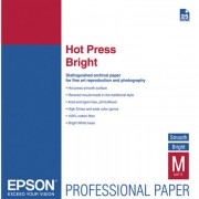 EPSON Hot Press Bright Paper, A2 (25 fg)  (M1)