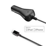 CAR CHARGER 1A IPHONE 5/5S/5C