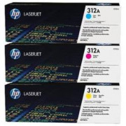 HP Hewlett Packard HP CF440AM 312A TONER COLORE CYM 3PZ