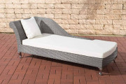 Chaiselongue Savannah bianco crema - bianco crema