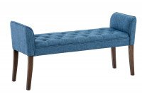 Chaiselongue Cleopatra, bruno antico blu