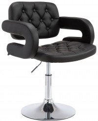 Lounger Dublin similpelle nero