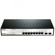 10-PORT GIGABIT SMART SWITCH WITH 2 SFP PORTS                 IN