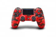 Sony DUALSHOCK 4 WIRELESS CONTROLLER RED CAMOUFLAGE V2