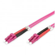 FO PCORD LC TO DUPLEX OM4 1M