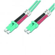 FO PCord LC to Duplex OM3 2m