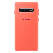 EF-PG973THEGWW SILICONE COVER BERRY PINK GALAXY S10