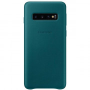EF-VG973LGEGWW LEATHER COVER GREEN GALAXY S10