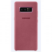 ALCANTARA COVER PINK GALAXY NOTE 8