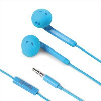 FUN 35 - WIRED EARPHONES STEREO 3.5 MM LBLUE