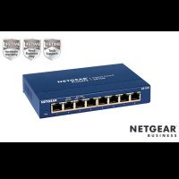 NETGEAR GS108GE Switch Unmanaged 8 porte Gigabit,Garanzia a vita+NBD