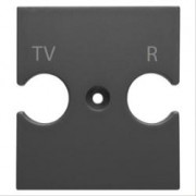 SUPPORTO PRESE COMBINATE TV-R CH-BK