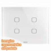 PLACCA ICE TOUCH KNX BIANCO 4 SIMBO