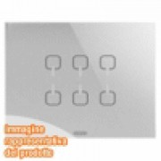 PLACCA ICE TOUCH KNX TITANIO 6 SIMB