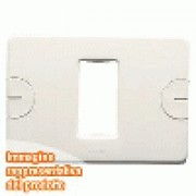 PLACCA 3 POS.BIANCO COMPACT
