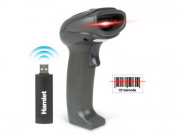 Hamlet BARCODE SCANNER PROF LASER 1D WIRELESS W/DONGLE USB  IN