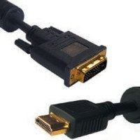 CAVO GOLD 2MT HDMI-DVI PLACCATO